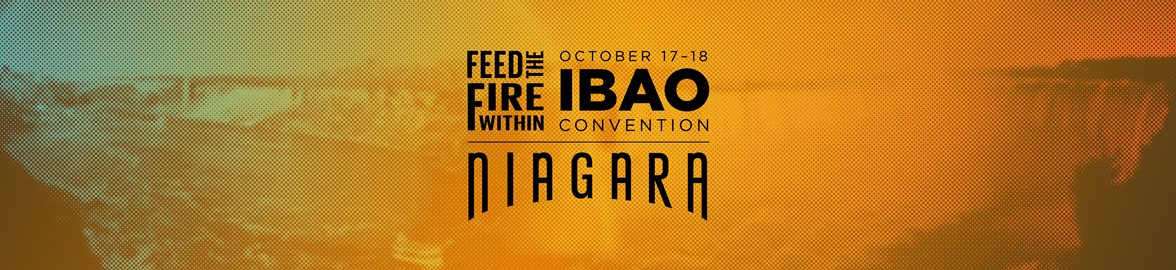 IBAO Convention Niagara - Logo Header